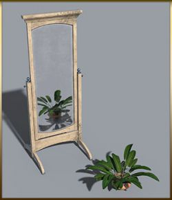 Vintage Furniture : Swivel Mirror for DS