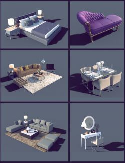 Interior Furniture 03
