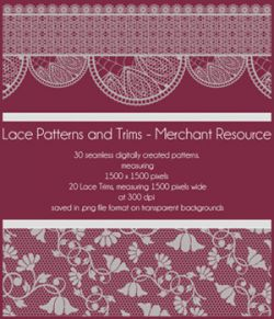 Lace Patterns and Trims
