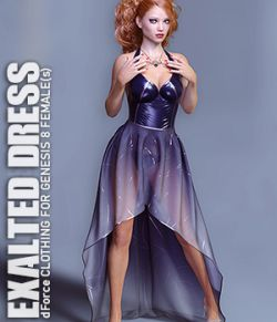 dForce Exalted Dress for Genesis 8 Females