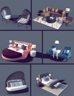 Interior Furniture 01