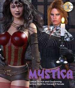 DC-Mystica for Genesis 8 Female