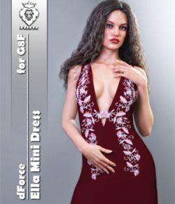 JMR dForce Ella Mini Dress for G8F