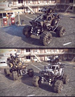 ATT Buggy Vehicle
