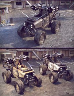 BTT Buggy Vehicle