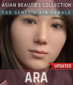 Ara G3G8F for Genesis 3 and 8 Female