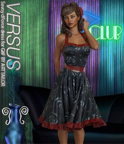 VERSUS- Savoy dForce dress for G8F