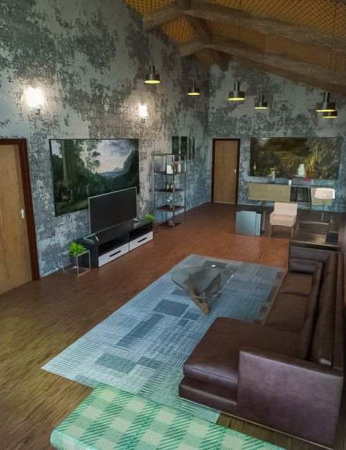 Energy Efficient Living Room