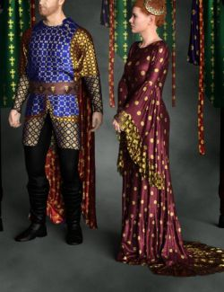Regal Riches: Historical Pattern Iray Shader Presets
