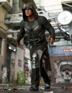 dForce Newrava Outfit for Genesis 8 Male(s)