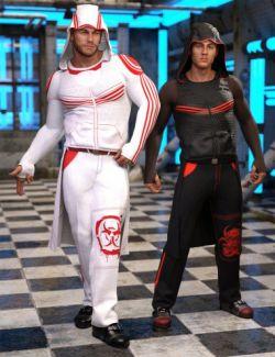 dForce Newrava Outfit Textures