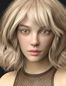 Gudrun HD for Genesis 8 Female