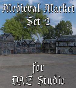 Medieval Market 2 for DAZ Studio