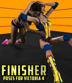 Finisher Poses for Victoria 4