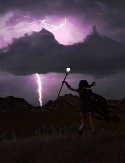 Orestes Iray HDRI Skydomes- Night Storms