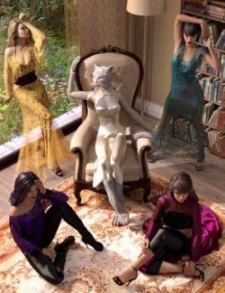 Drama Queen Poses for Genesis 8 Female