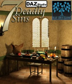 7 Deadly Sins for Daz Studio