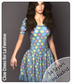 Cloe Dress for La Femme