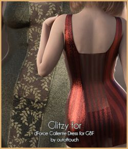 Glitzy for Caliente Dress