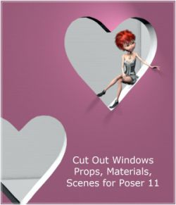 Cut Out Windows for Poser 11