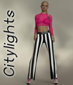 Citylights dforce Pantsuit for Genesis 8 Females