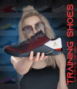 Functional Training Shoes  for Genesis 3 and 8