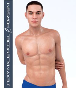 Sexy Male Model 2 for G8M