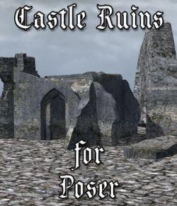 Castle in Ruins for Poser