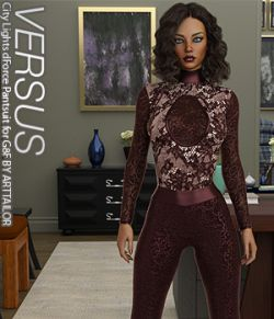 VERSUS - City Lights dForce Pantsuit for G8F