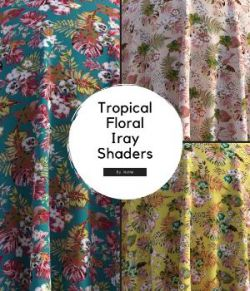 Tropical Fabric Iray Shaders
