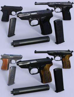 Spy Pistols