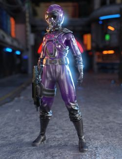 Battle Pilot Outfit for Genesis 8 Female(s)