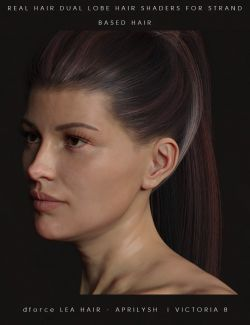 Real Hair Shaders for dForce and Strand-Based Hairs
