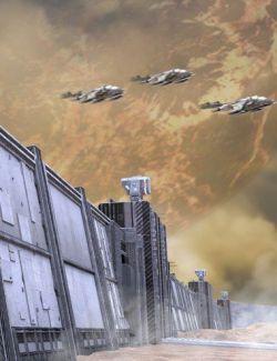CyberCity Walls 01