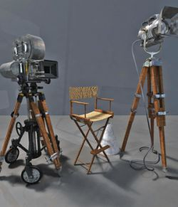 MS20 Motion Picture Camera & Lights