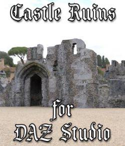 Castle in Ruins for DAZ Studio