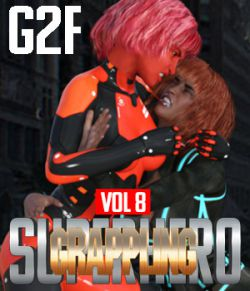 SuperHero Grappling for G2F Volume 8
