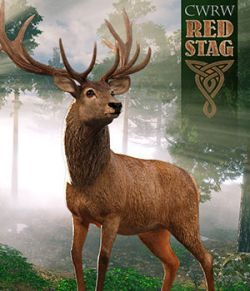 CWRW Red Stag for the HiveWire Mule Deer