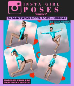 DmanDing Insta-Girl Poses for G8F Vol. 2