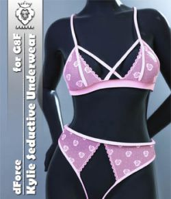 JMR dForce Kylie Seductive Underwear for G8F