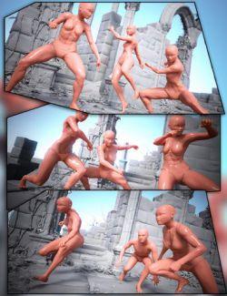 Aki Tribe Poses for Genesis 8