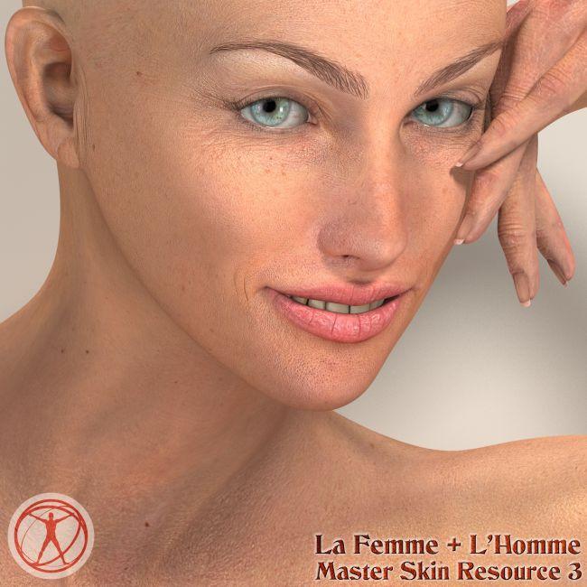La Femme  and L'Homme - Master Skin Resource 3
