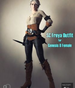 SC Freya Outfit for Genesis 8 Female
