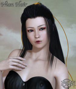 Prae-Nian Hair For Poser