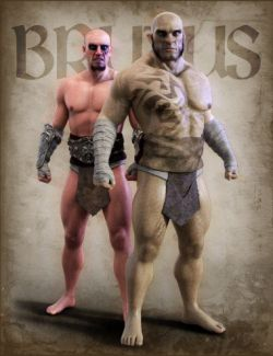 Brutus Orc & Human For Genesis 8 Male