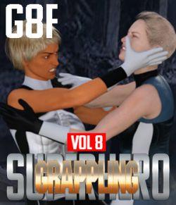 SuperHero Grappling for G8F Volume 8