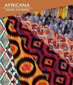 Digital Patterns - Africana
