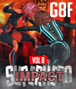 SuperHero Impact for G8F Volume 8