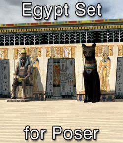 Egypt Set for Poser