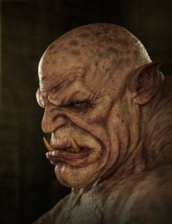 Ogre HD for Genesis 8 Male